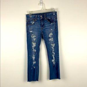 Women's super stretch American Eagle jeans!